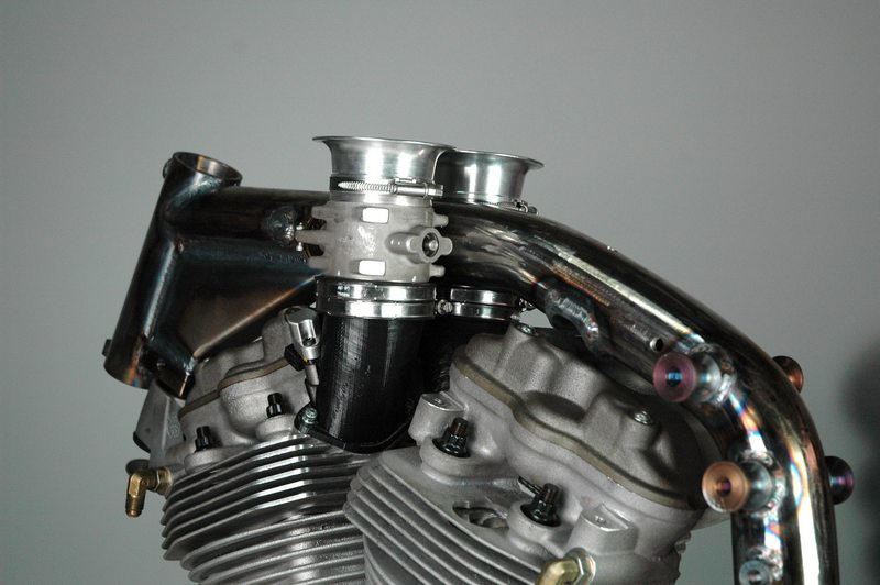 New Bottpower intake for the Buell XBRR engine.
