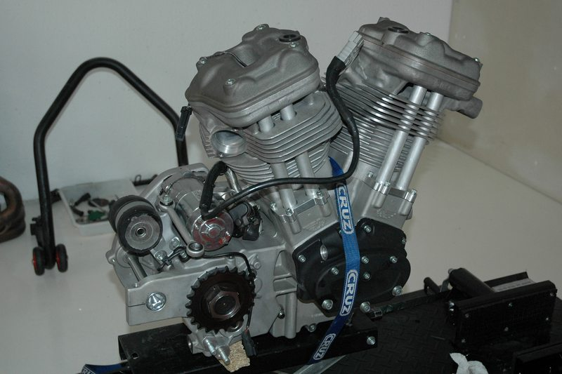 Buell XBRR engine