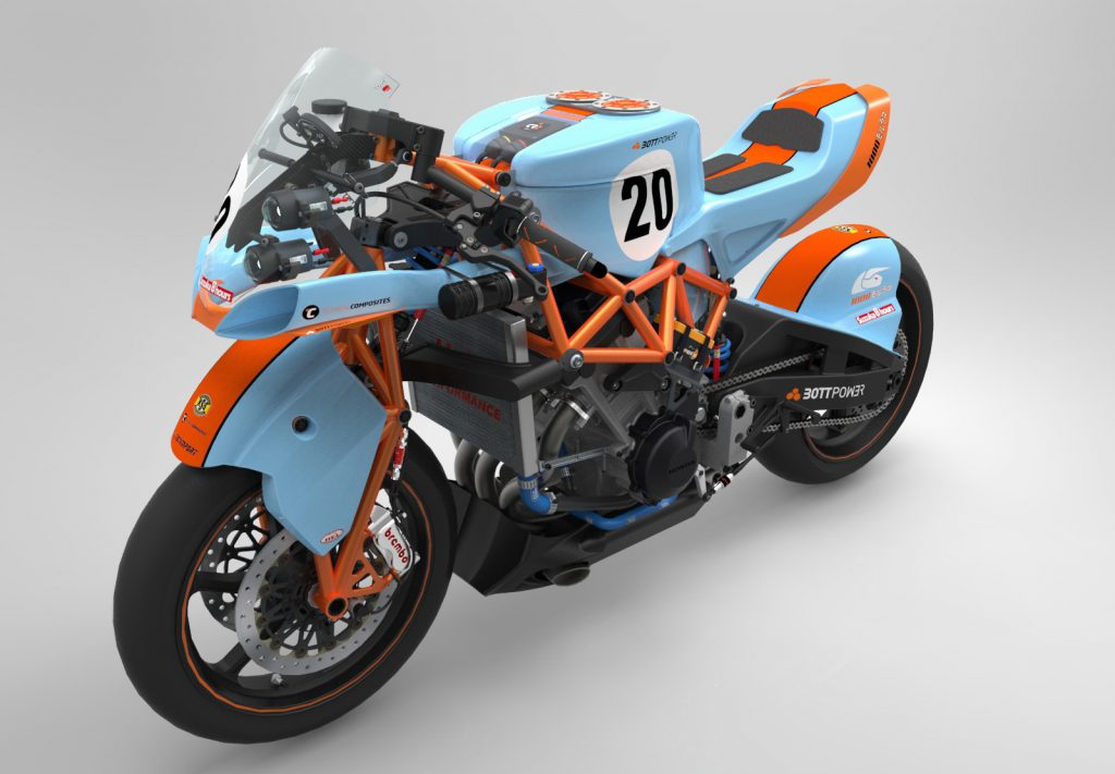 BOTT 1000 Morlaco with Gulf colors