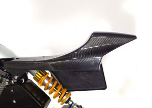 Bottpower carbon fiber flattrack style tail