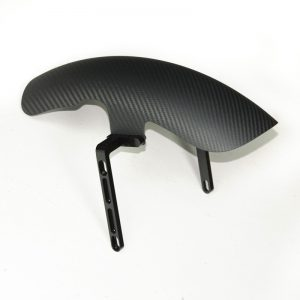 Carbon fiber front mudguard for Buell XB