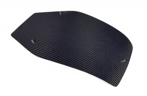 Carbon fiber seat base pad