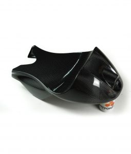 Carbon fiber cafe racer style seat / tail
